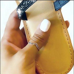 Cute Adorning Toe or Thumb Ring